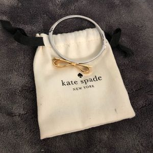 Kate Spade gold and silver bracelet
